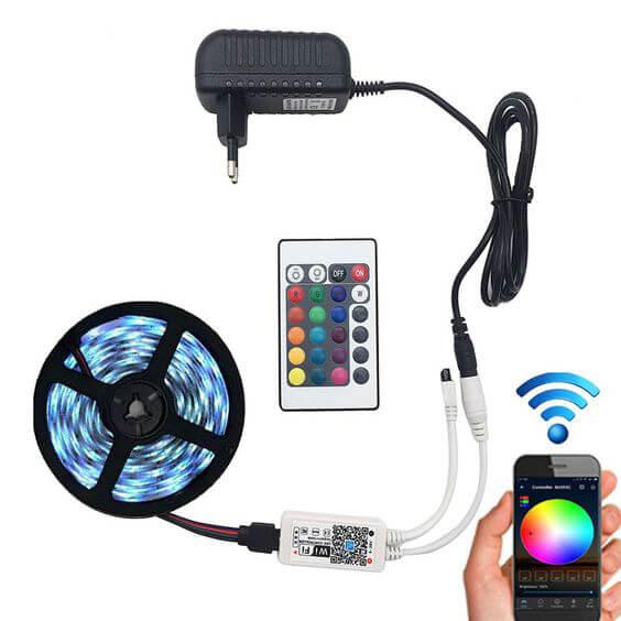 RGB light controller