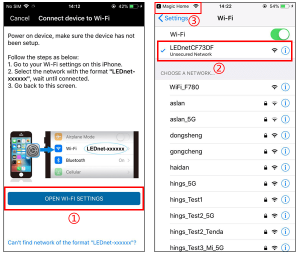 connect device to WiFi network