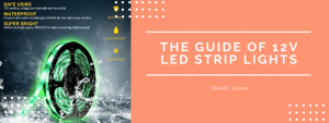 The guide of 12 LED strip lights