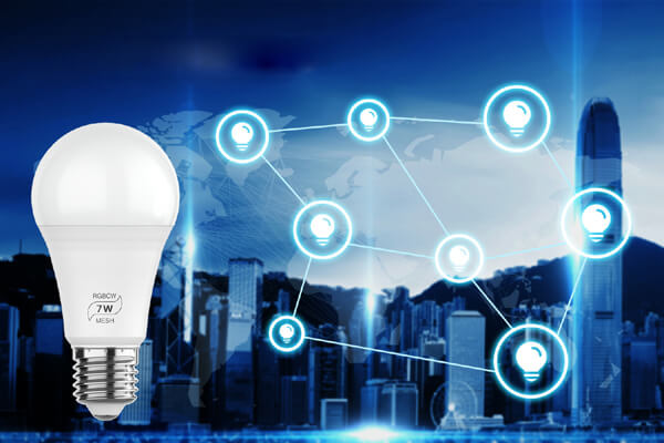 Bluetooth Mesh light bulb