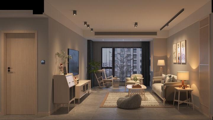 living room smart lights