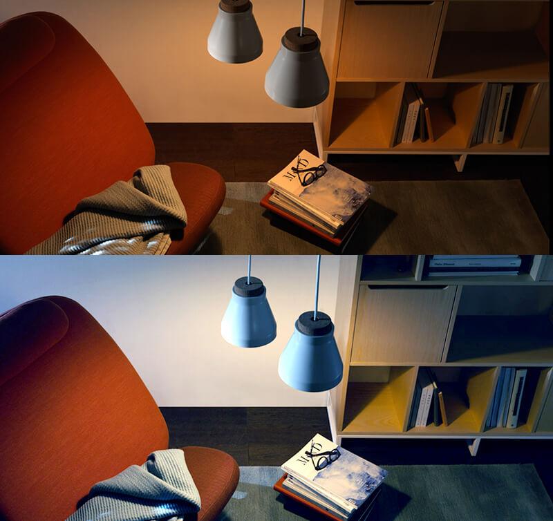 smart wifi light bulb