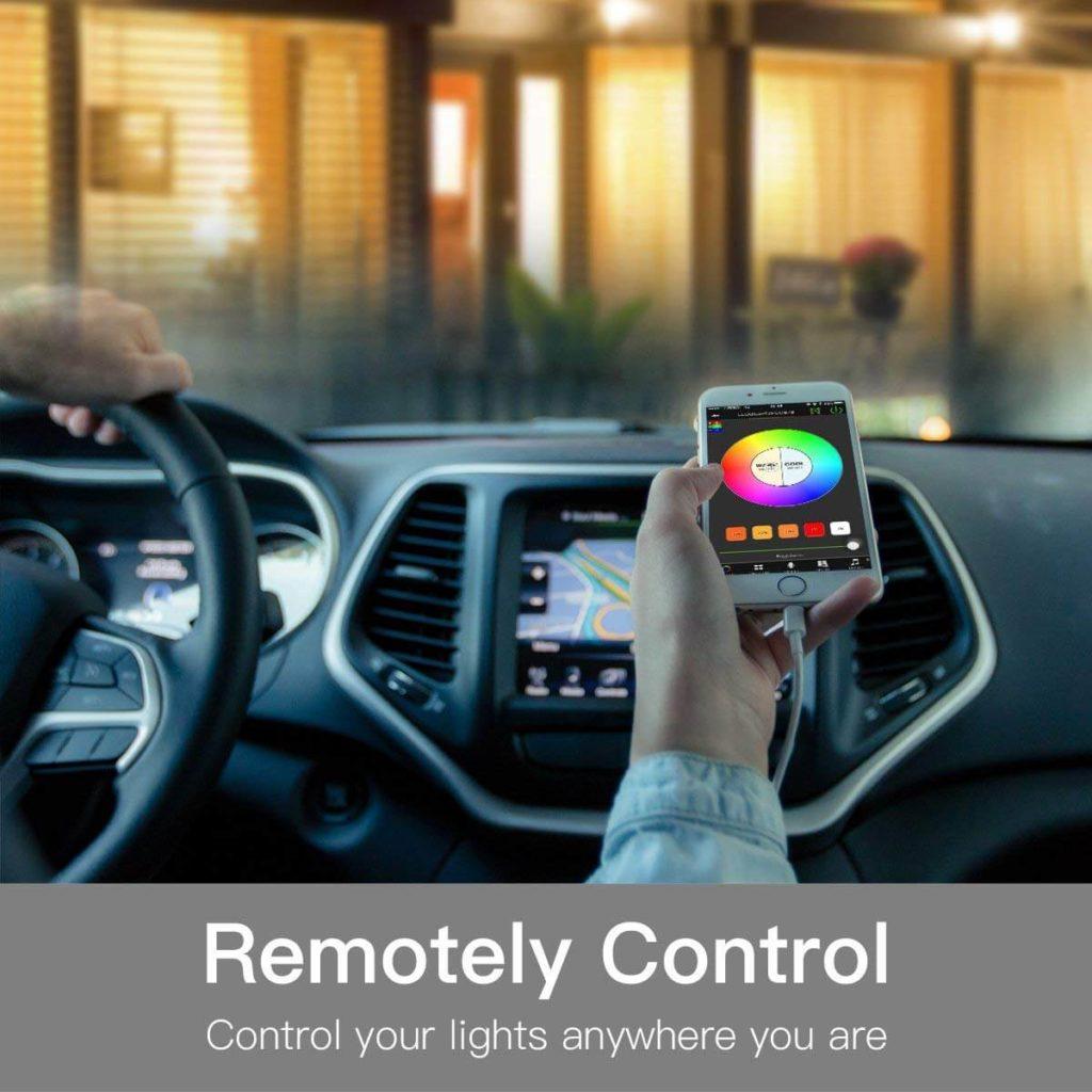 remotely control bulb