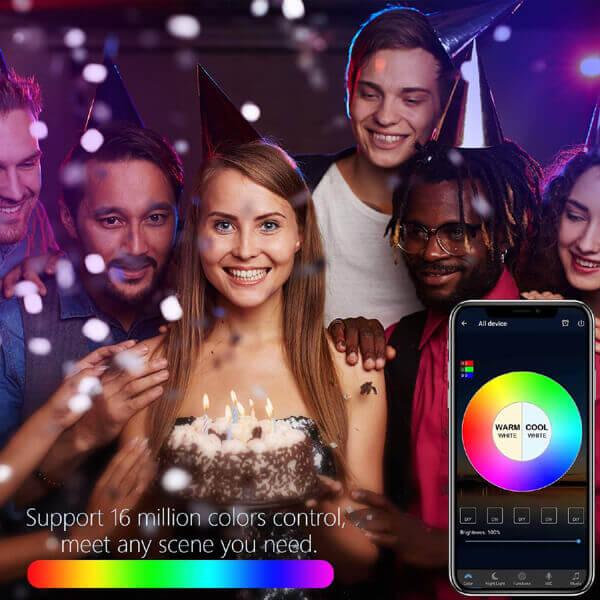 color change smart light bulb